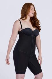 NCDI Post-Surgical Shapewear BLACK / XS POST-SURGICAL FULL BODY LONG SECOND STAGE SHAPER LUNAVUE Shapewear