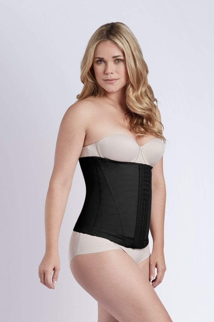 NCDI POWERNET BLACK / XS POWERNET MOLDING WAIST CINCHER WITH TRIMSHAPE LUNAVUE Shapewear