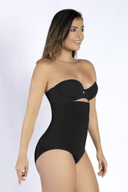 NCDI SEAMLESS BLACK / S SIGNATURE CONTROL SEAMLESS SHAPING HIGH-WAIST BRIEF LUNAVUE Shapewear