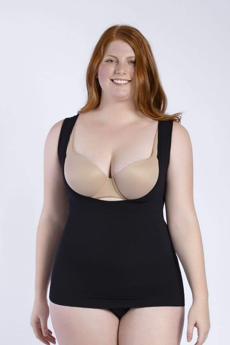 NCDI SEAMLESS ESSENTIAL OPEN BUST SEAMLESS CONTROL TANK LUNAVUE Shapewear