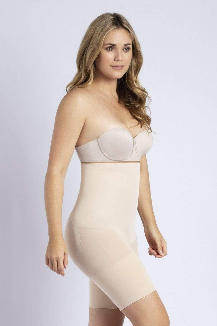 NCDI SHAPEWEAR NUDE / S COMFORT EVOLUTION HIGH-WAIST THIGH SLIMMER LUNAVUE Shapewear
