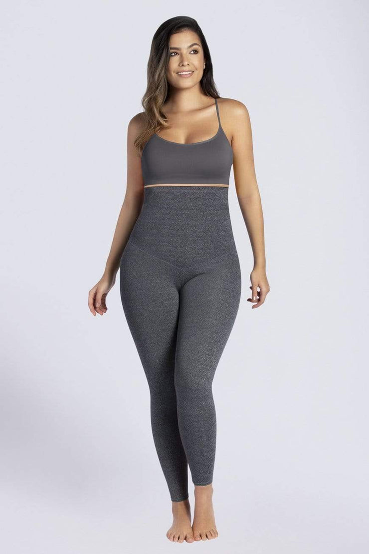 NCDI SPORTSWEAR FREE-MOTION CURVY HIGH-WAIST SHAPING LEGGINGS LUNAVUE Shapewear