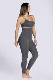 NCDI SPORTSWEAR GRAY / S FREE-MOTION CURVY HIGH-WAIST SHAPING LEGGINGS LUNAVUE Shapewear