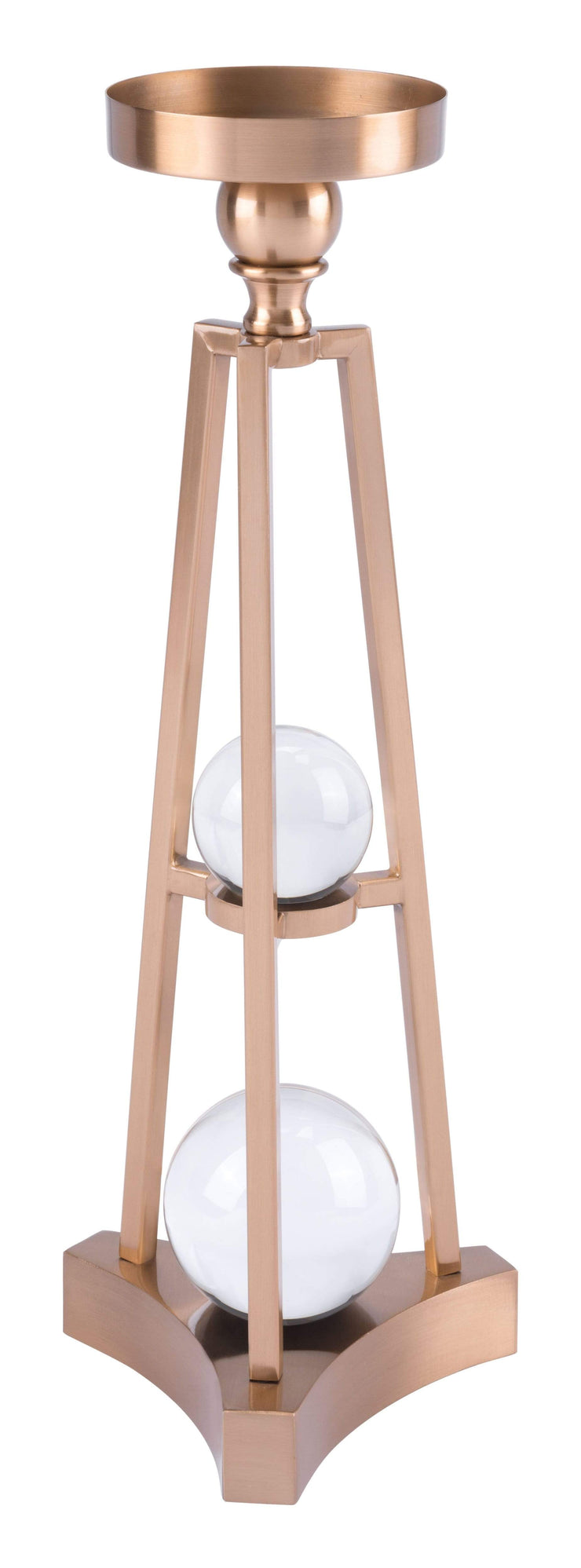 Zuo Modern Candle Holder With Orbs Sm Antique Brass Candle Holder With Orbs Sm Antique Brass LUNAVUE Shapewear