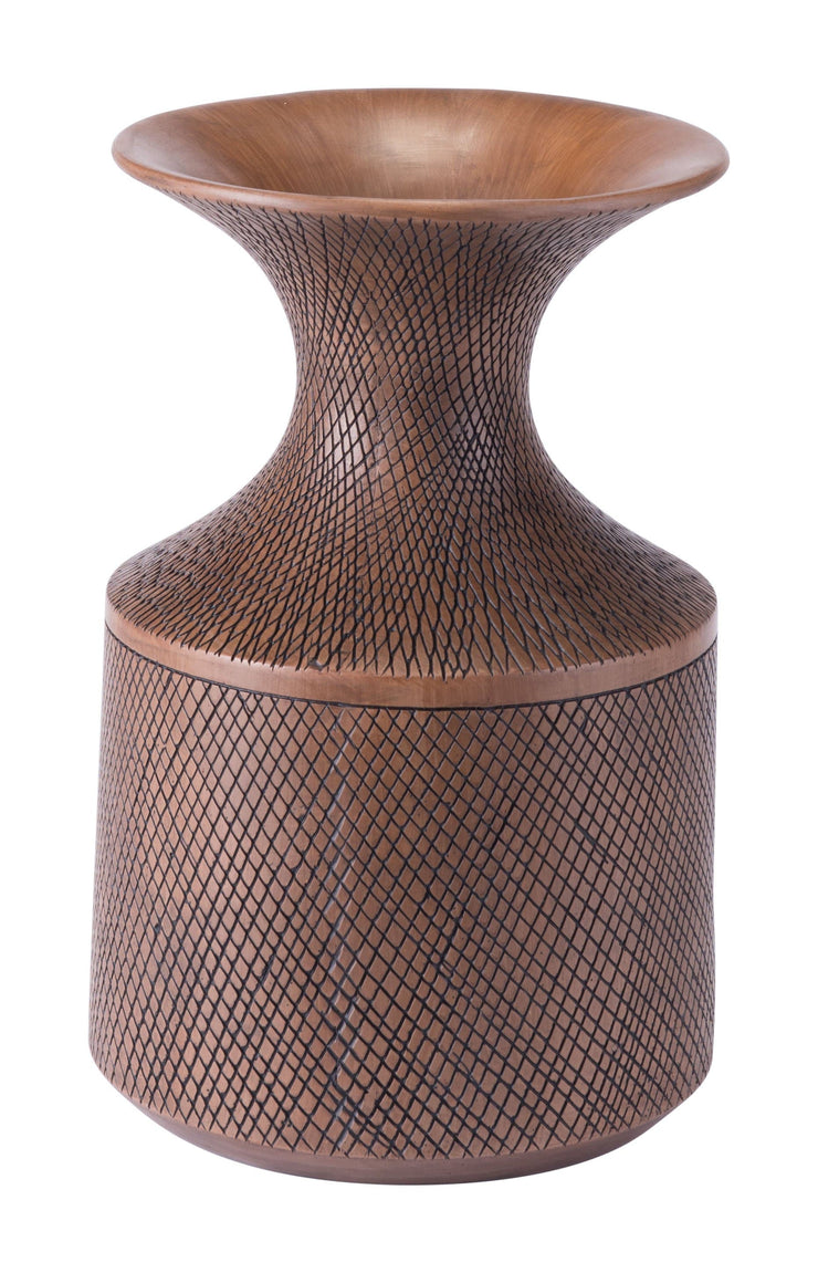 Zuo Modern Modern Home Brown Poly Bottle Small Brown Poly Bottle Small LUNAVUE Shapewear