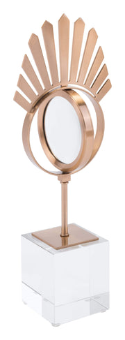 Zuo Modern Tear With Stand Antique Brass Tear With Stand Antique Brass LUNAVUE Shapewear