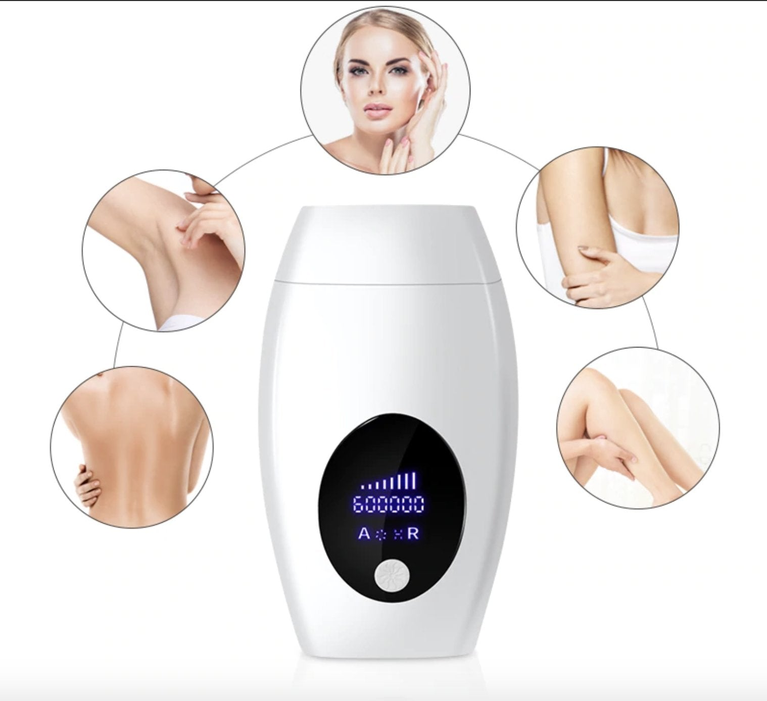 IPL LCD LASER HAIR REMOVAL HANDSET - Reflexion London Beauty