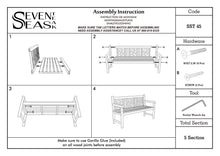 Load image into Gallery viewer, Teak Wood Saint Thomas Outdoor Bench, 5 Foot