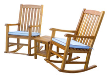 Load image into Gallery viewer, Teak Wood Salvador Outdoor Rocking Chair
