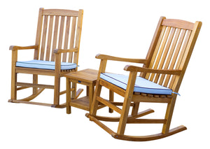 Teak Wood Salvador Outdoor Rocking Chair