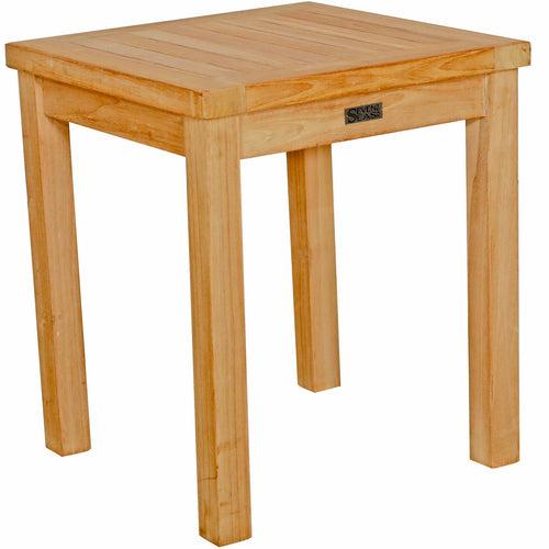 Teak Wood Santa Monica Outdoor End Table