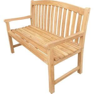 Teak Wood Acapulco Teak Outdoor Bench, 4 Foot