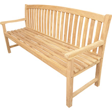 Load image into Gallery viewer, Teak Wood Acapulco Teak Outdoor Bench, 6 Foot