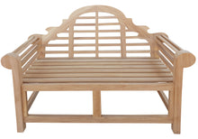 Load image into Gallery viewer, Teak Wood Marlborough Outdoor Bench, 4 Foot