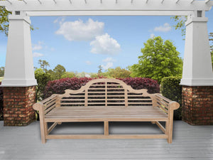 Teak Wood Marlborough Outdoor Bench, 6 foot