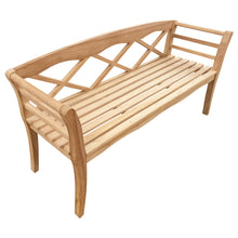 Load image into Gallery viewer, Teak Wood Montana Outdoor Patio Bench, 5 Foot