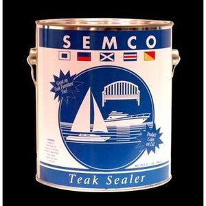 Semco Teak Wood Sealer Gallon Honeytone