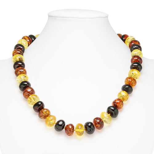 collar ambar multicolor