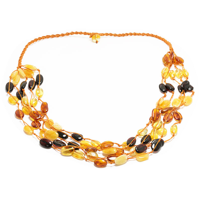collar cordon naranja