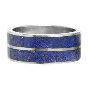 anillo lapislazuli two lines