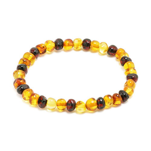 pulsera colores brandy miel limon