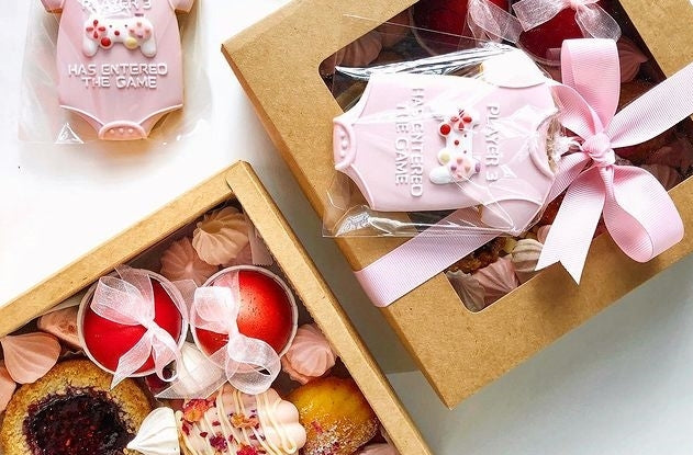 👶🏻 [Full Moon Gift Box] Pink Desserts