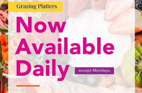 Grazing Platters & Cakes · Daily Deliveries