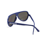 Navy Blue / Mirror Original Crossed Temples