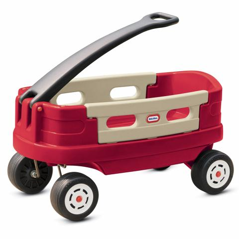 kid's plastic wagon for beach