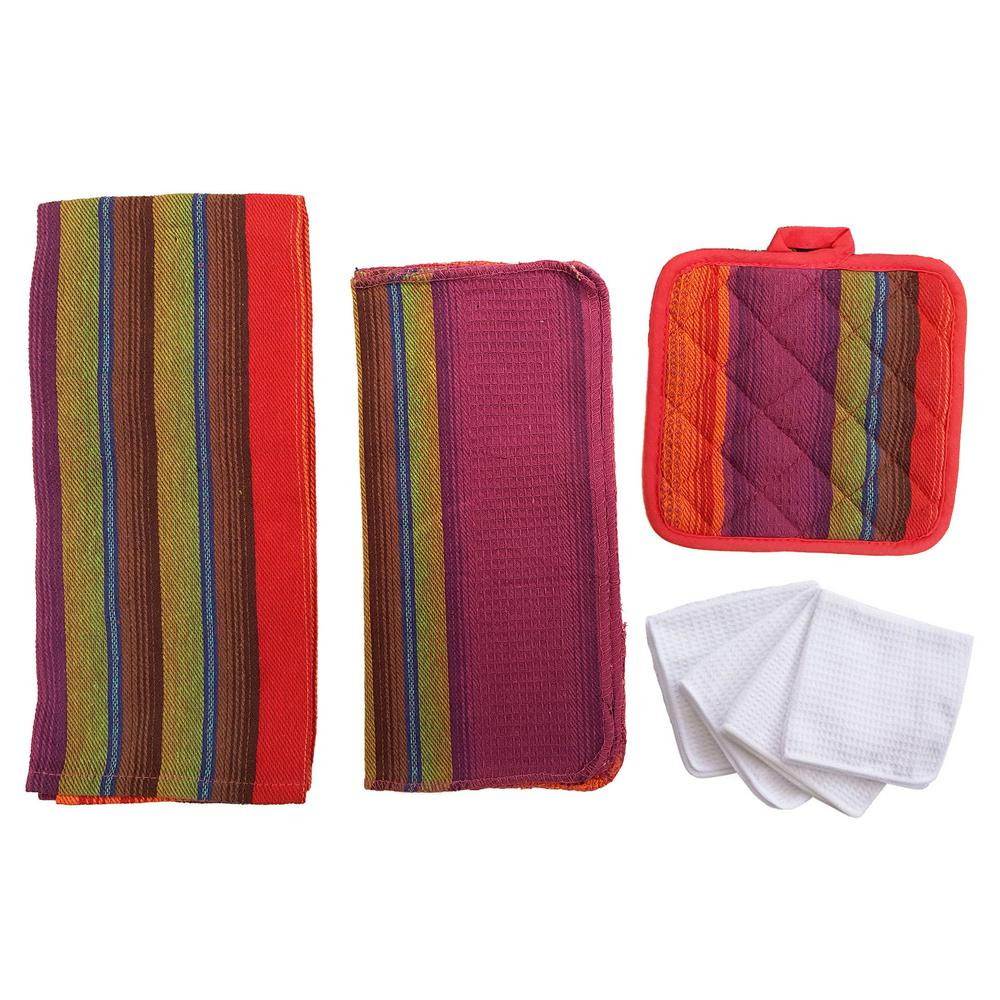 kitchen towel set for rental