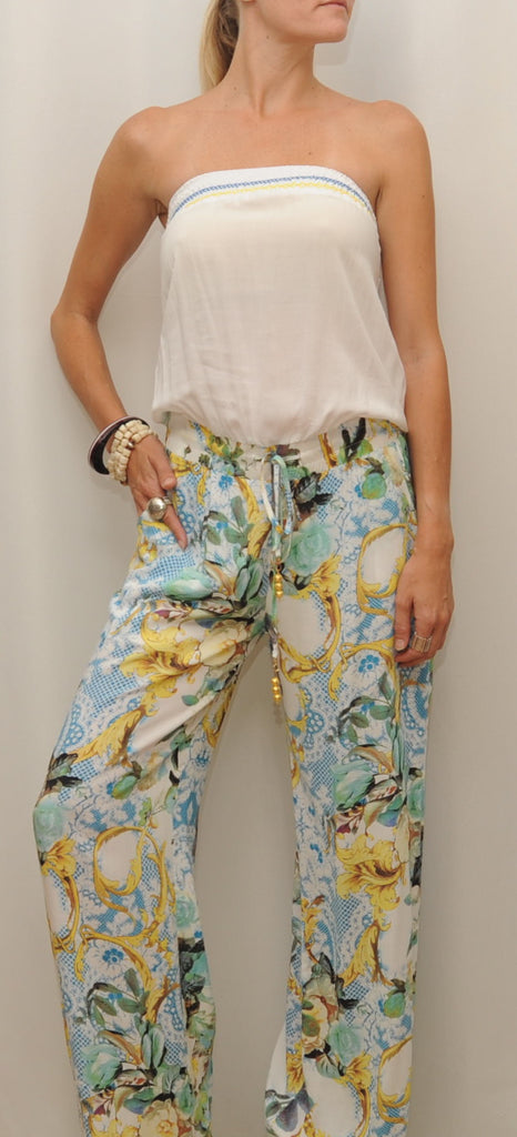 Flower Power Jumpsuit - Blue Lawn Boutique