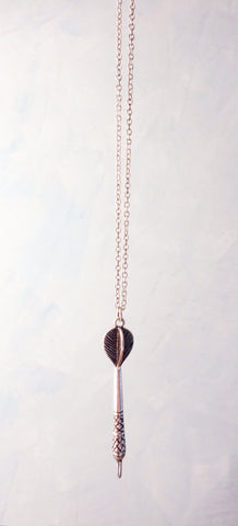 Dart Pendant Necklace