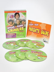 (Buy 1 Get 1 Free) Speak & Read Chinese 6-DVDs (Includes Simplified & Traditional Chinese)