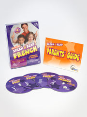 Speak & Read French 4-DVDs Program