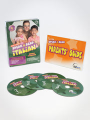 Speak & Read Italian 4-DVDs Program