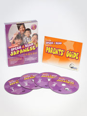 Speak & Read Japanese 4-DVDs Program