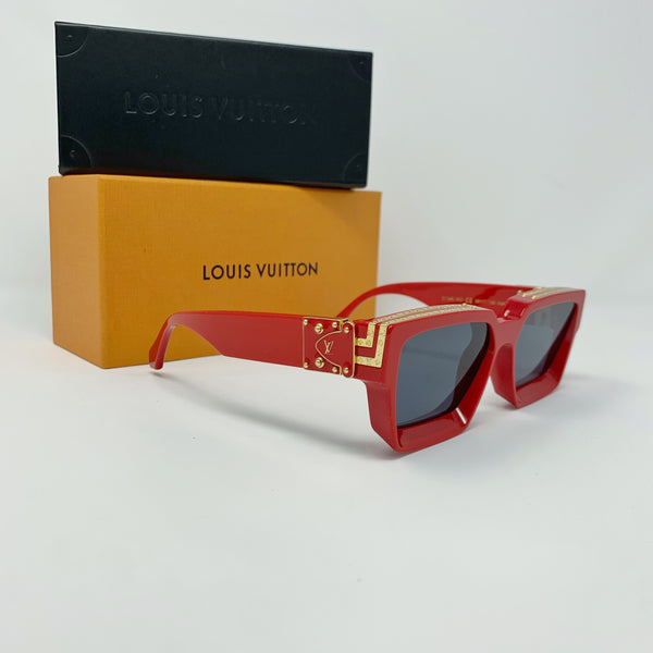 Louis Vuitton 1.1 Millionaires Sunglasses Z1169E Red