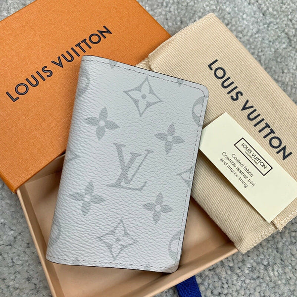 Louis Vuitton Pocket Organizer White