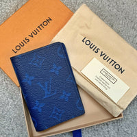 Louis Vuitton Pocket Organizer - Cobalt Blue