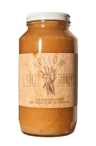 Hollow Tree Honey 33 oz. Jar