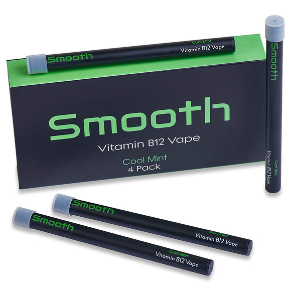 Smooth Vitamin B12 Inhaler Aromatherapy for Energy (Cool Mint Flavor)