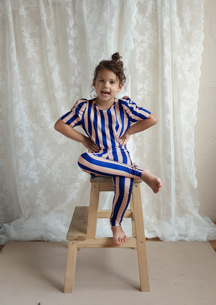 Stripes Leggings - Petite Belle