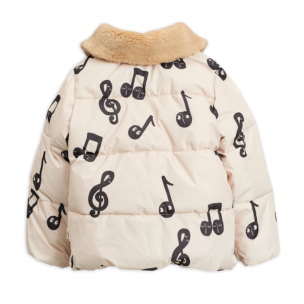 Notes Puffer Jacket by Mini Rodini - Petite Belle