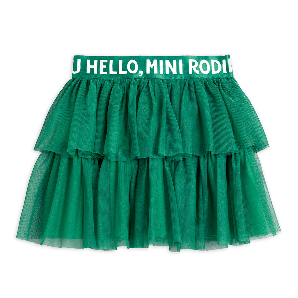 Green Tulle Skirt by Mini Rodini - Petite Belle