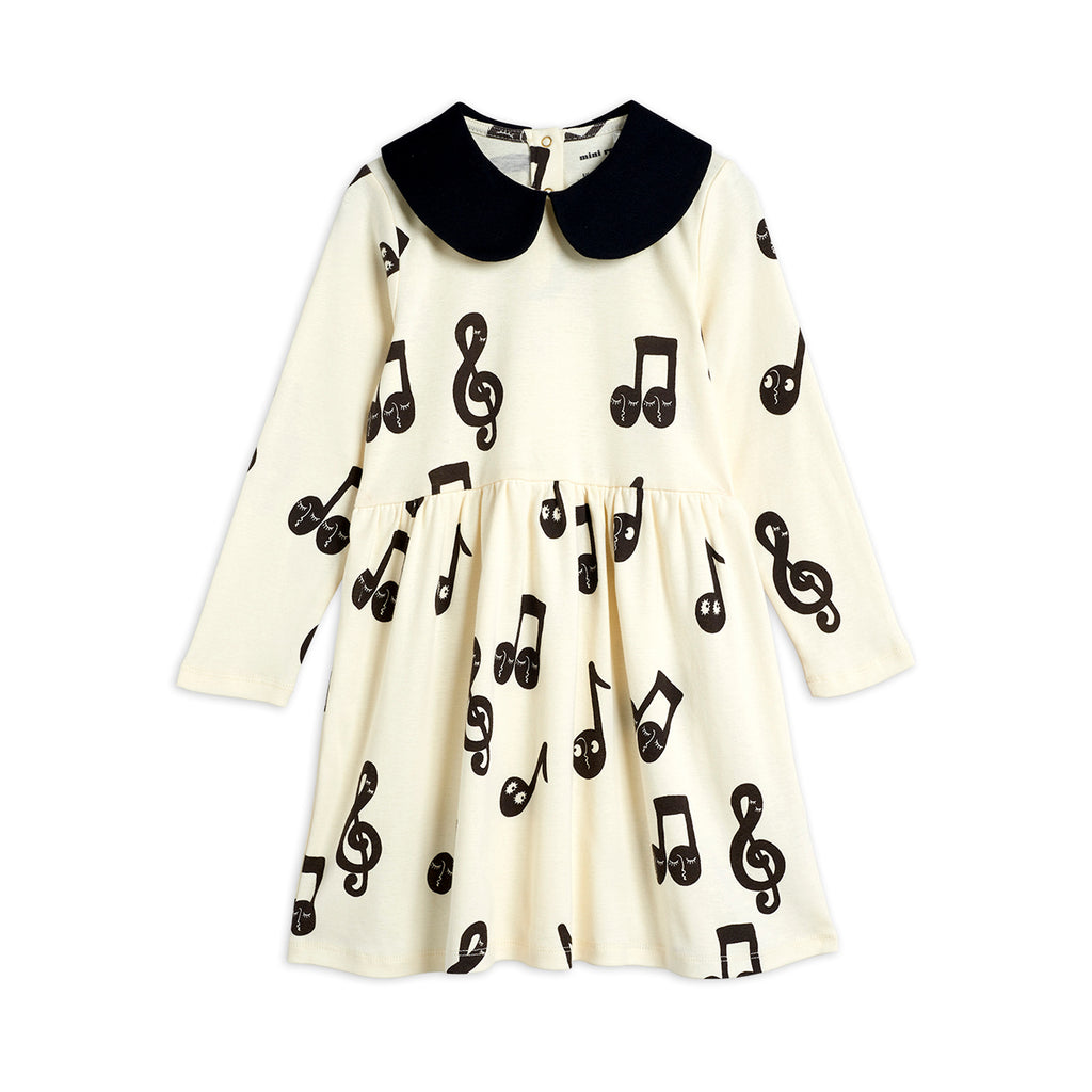 Note Dress by Mini Rodini - Petite Belle