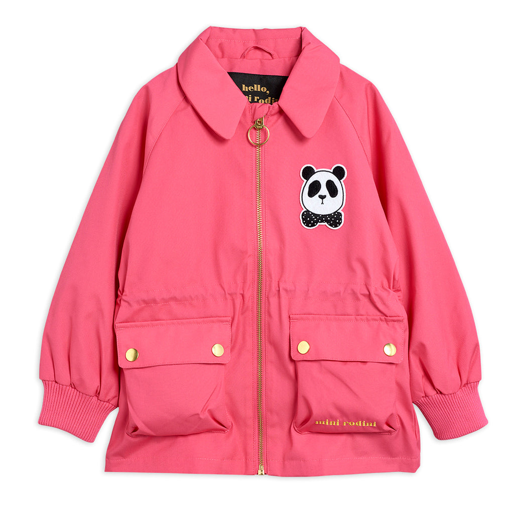 Pink Panda Jacket by Mini Rodini - Petite Belle