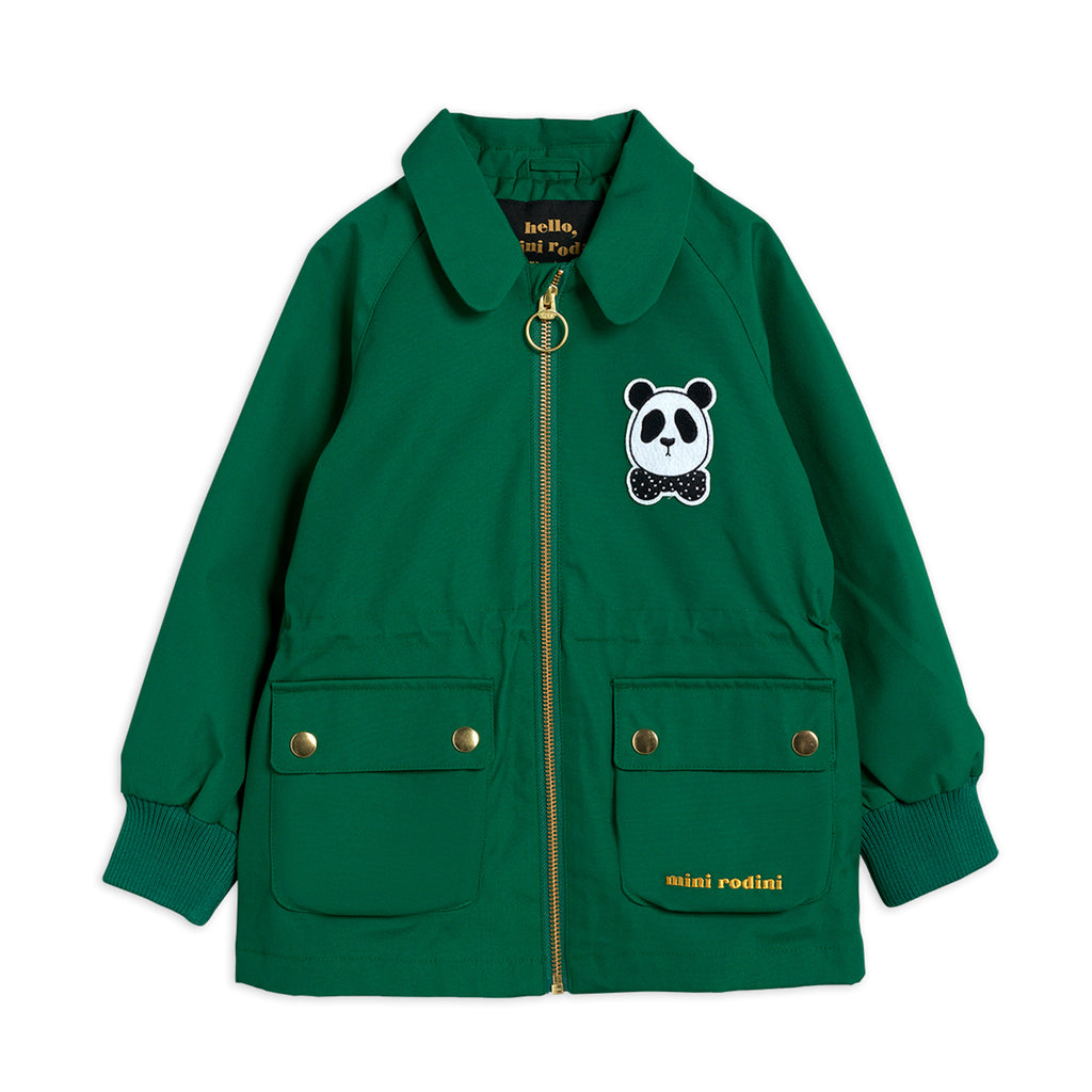 Green Panda Jacket by Mini Rodini - Petite Belle