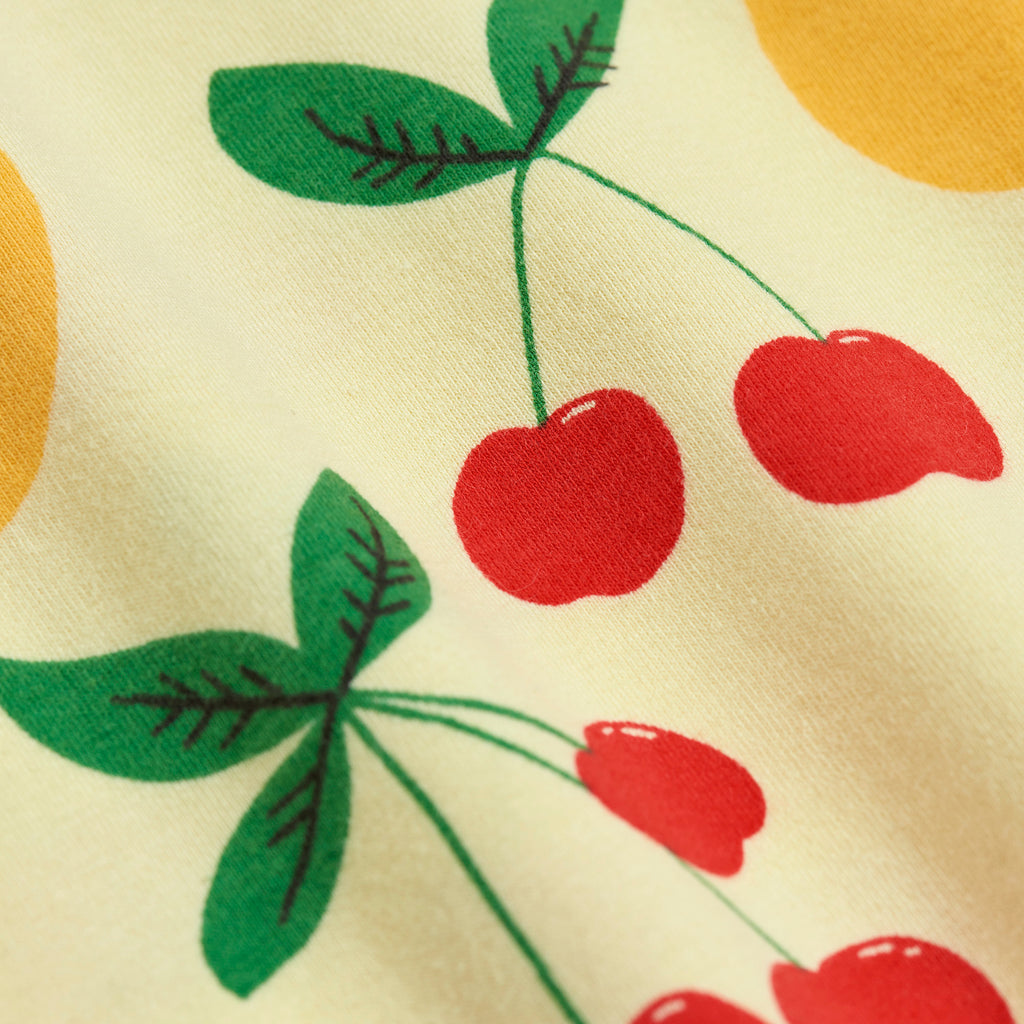 Cherry Lemonade SS Tee by Mini Rodini - Petite Belle