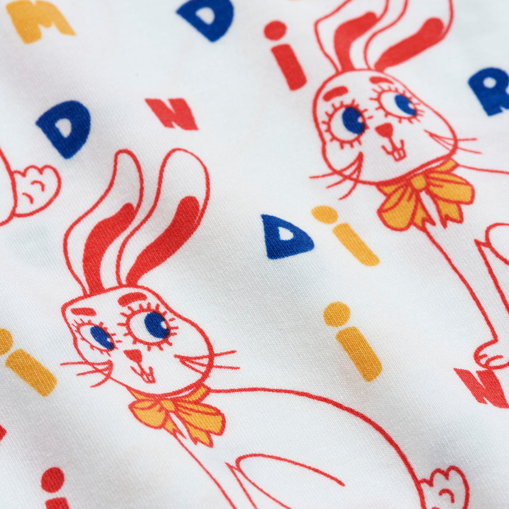 MR Rabbit SS Tee by Mini Rodini - Petite Belle