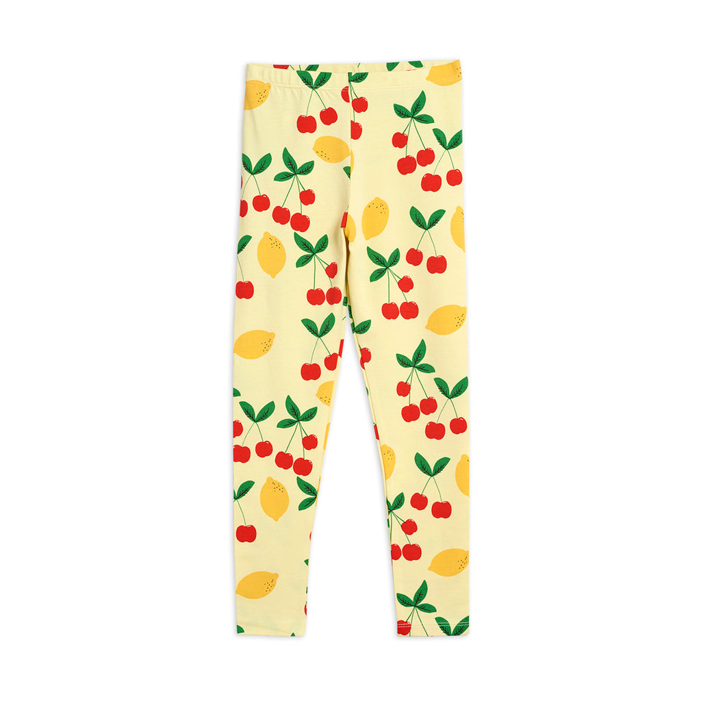 Cherry Lemonade Leggings by Mini Rodini - Petite Belle